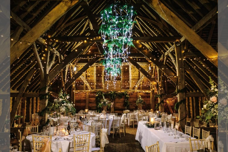 Gildings Barns wedding venue in Surrey