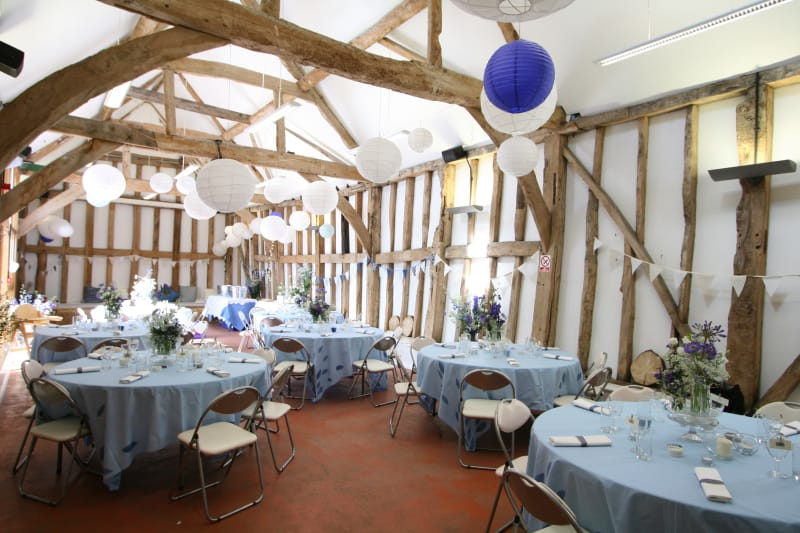 Fison Barn - Blank canvas wedding venues