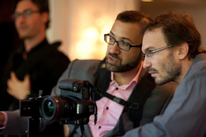 John Nassari guides Bridebook  photographers