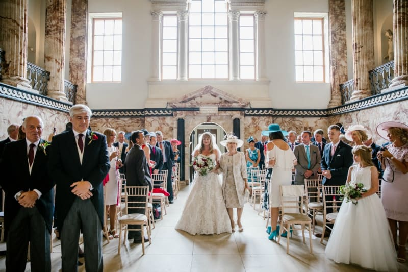 Norfolk Wedding Venue Holkham Hall - a disney-like dream
