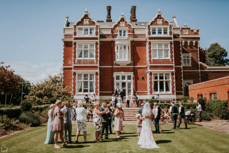 Wivenhoe House Hotel wedding venue