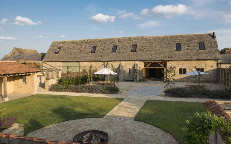 Oxleaze Barn is a classic wedding venue with lots of rustic charm