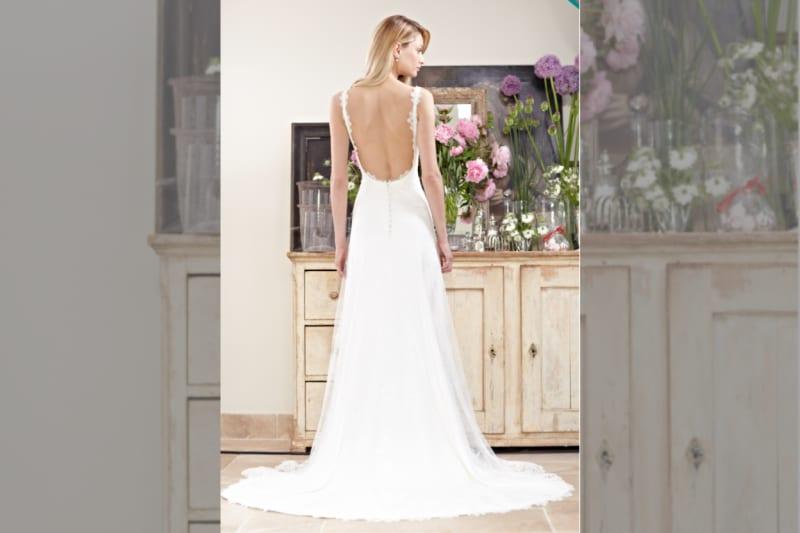 Phillipa Lepley backless dress on model