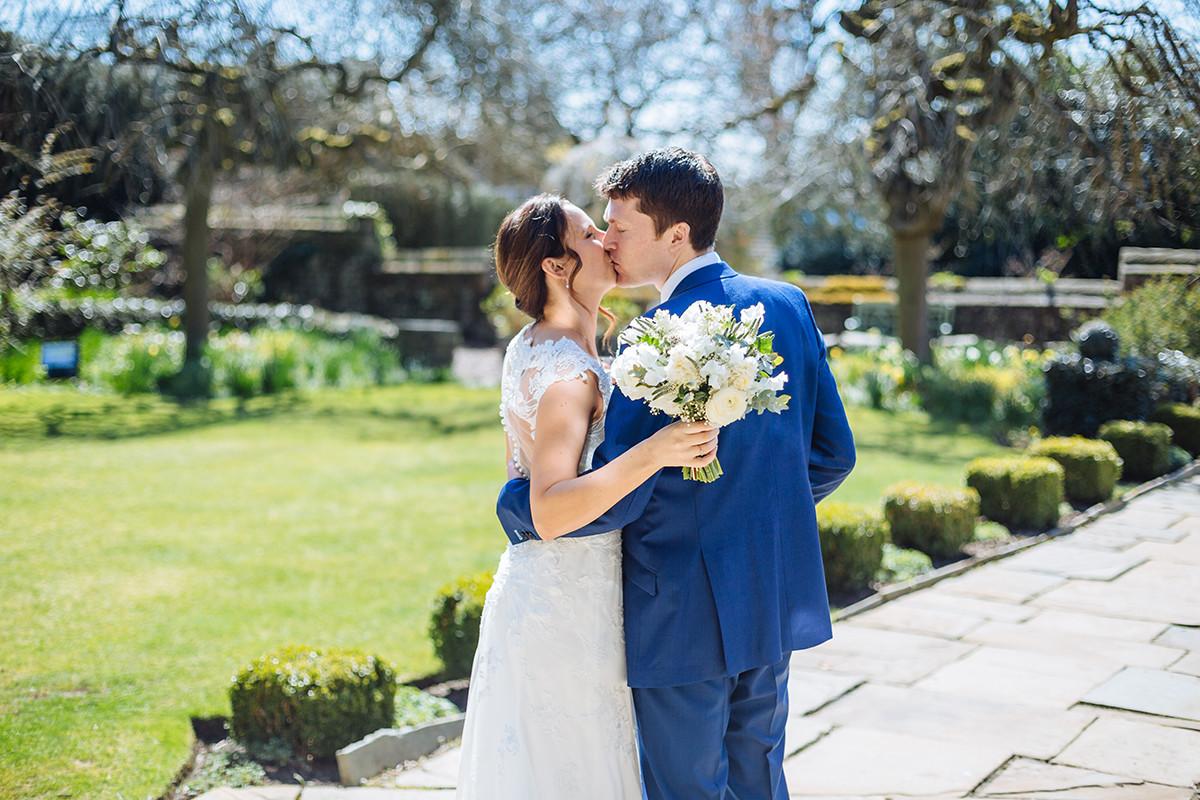 North   West Yorkshire   Halifax   Spring   Classic   DIY   Outdoor   Blue   Orange   Manor House   Real Wedding   James & Lianne Photography #Bridebook #RealWedding #WeddingIdeas Bridebook.co.uk