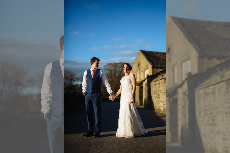 North | West Yorkshire | Halifax | Spring | Classic | DIY | Outdoor | Blue | Orange | Manor House | Real Wedding | James & Lianne Photography #Bridebook #RealWedding #WeddingIdeas Bridebook.co.uk