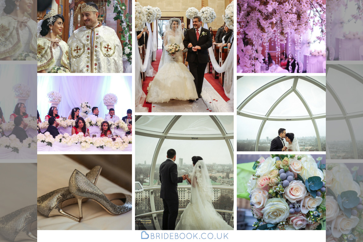 Real Wedding | Purple | Red | City | Hotel | London | London Eye | Hajley Photography #Bridebook #RealWedding #WeddingIdeas #LondonEye Bridebook.co.uk