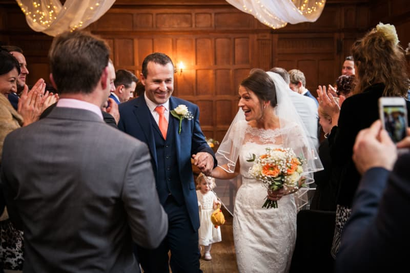 South East | Buckinghamshire | Aylesbury | Autumn | Country | Classic | DIY | Orange | Teal | Manor House | Real Wedding | Isha Photography #Bridebook #RealWedding #WeddingIdeas Bridebook.co.uk
