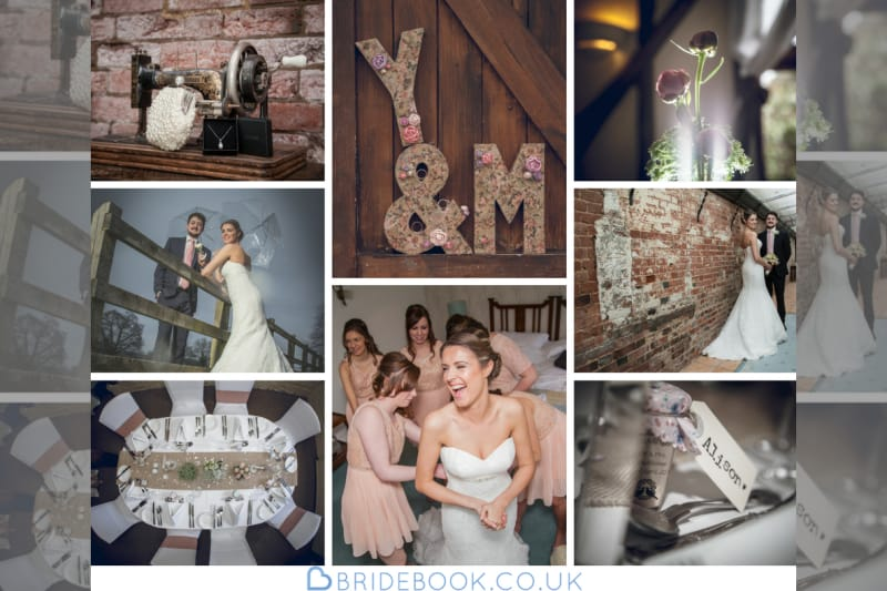 South East | Berkshire | Wokingham | Spring | Rustic | DIY | Vintage | Pink | Cream | Country House | Real Wedding | Ivory Haze #Bridebook #RealWedding #WeddingIdeas Bridebook.co.uk