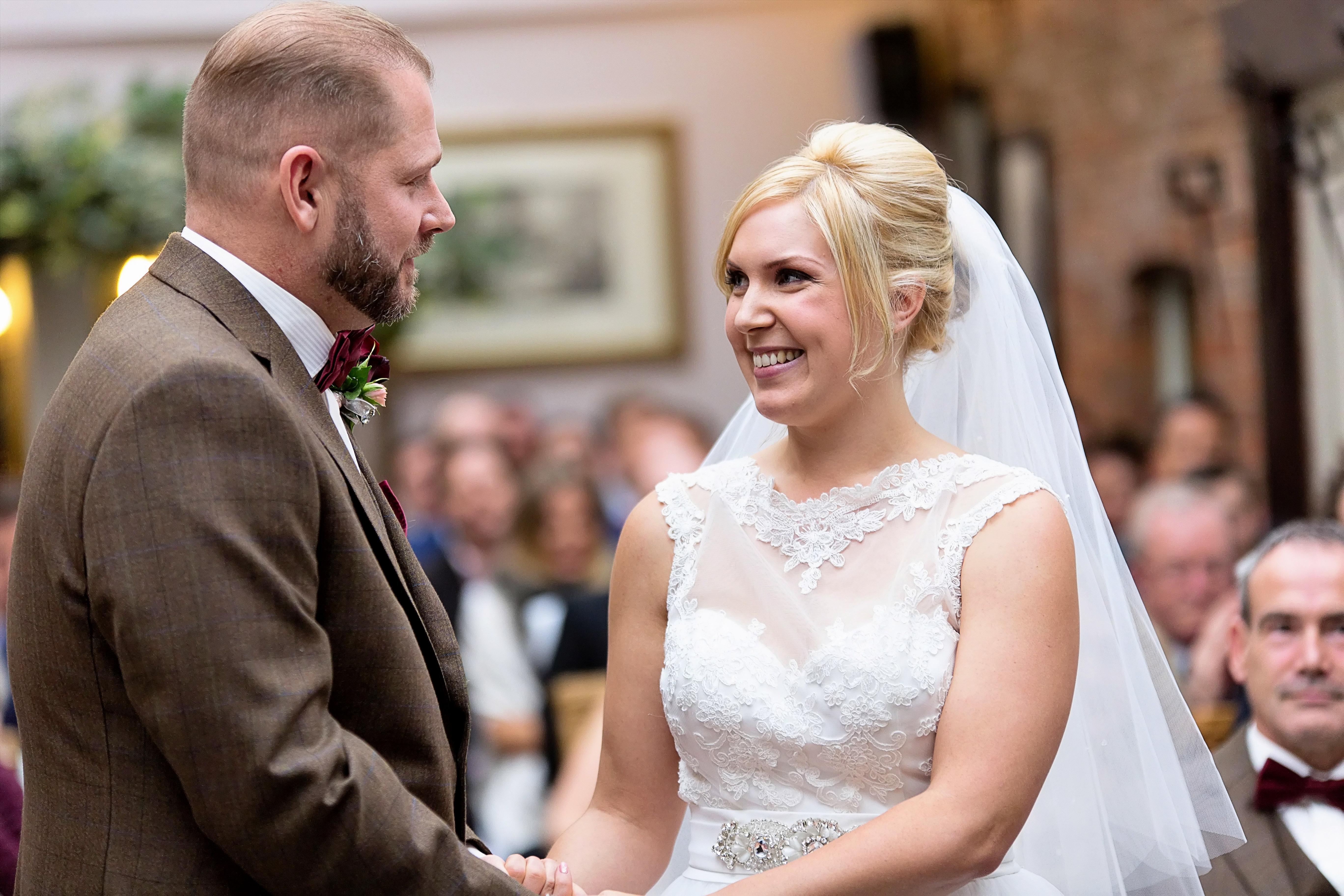 South West | Hampshire | Lymington | Winter | Traditional | Christmas | Maroon | Brown | Hotel | Real Wedding | Jennie Franklin #Bridebook #RealWedding #WeddingIdeas Bridebook.co.uk