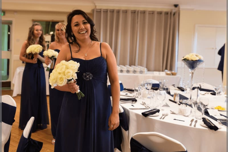 South West | Dorset | Poole | Spring | Coastal | Classic | Navy | White | Hotel | Real Wedding | Jennie Franklin #Bridebook #RealWedding #WeddingIdeas Bridebook.co.uk