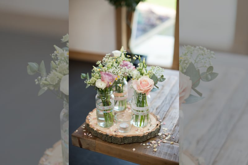 Midlands | Leicestershire | Spring | Rustic | Country | Pink | Barn | Real Wedding | Kayleigh Pope #Bridebook #RealWedding #WeddingIdeas Bridebook.co.uk
