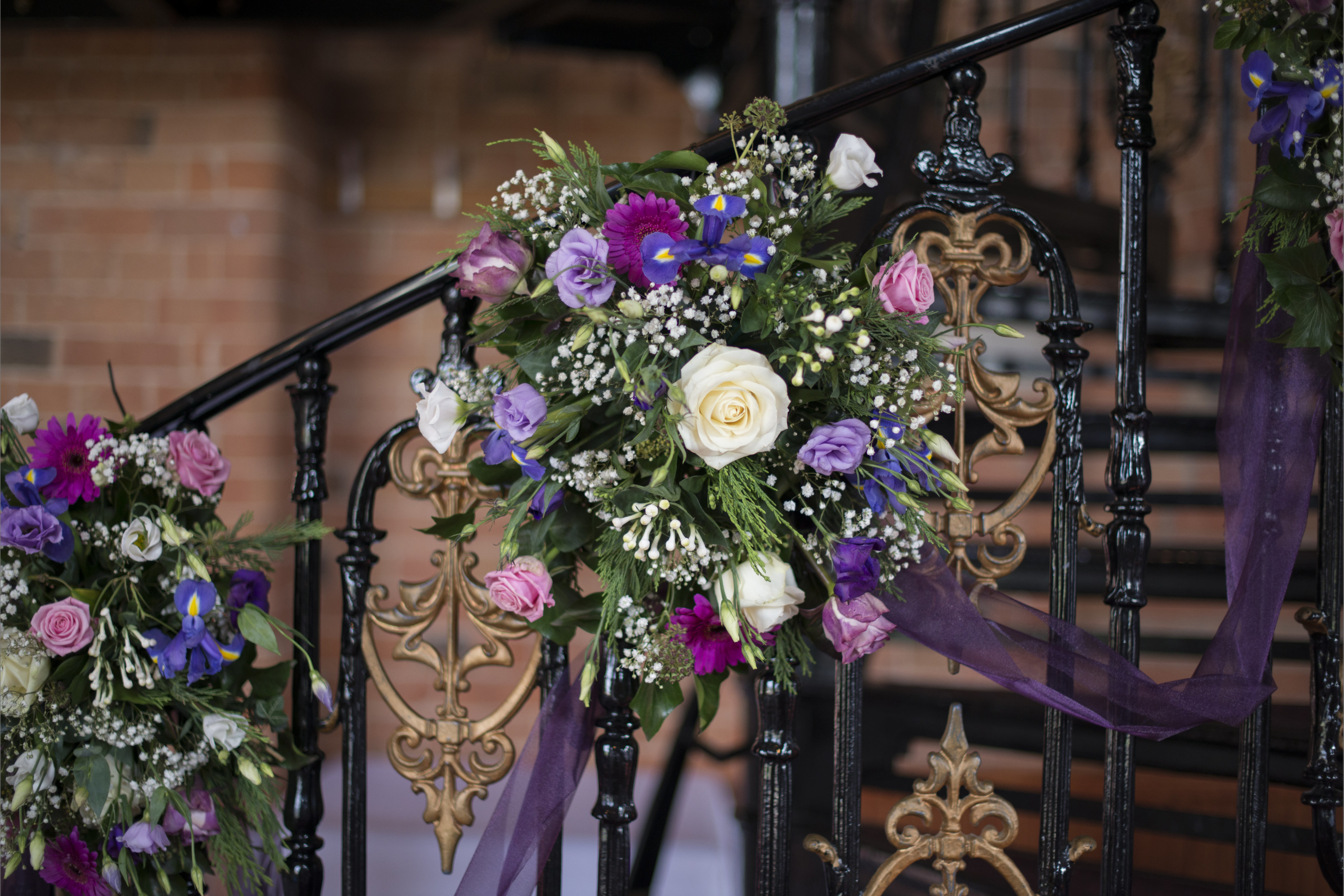 Real Wedding | Purple | Cultural | DIY | Manor House | Golf Club | Autumn | Kayleigh Pope Photography #Bridebook #RealWedding #WeddingIdeas #IngonManor Bridebook.co.uk