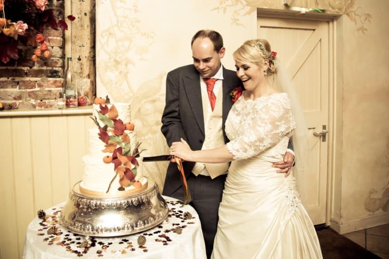 South East   Norfolk   Beccles   Autumn   DIY   Classic   Orange   Brown   Barn   Real Wedding   Si Grand Photography #Bridebook #RealWedding #WeddingIdeas Bridebook.co.uk