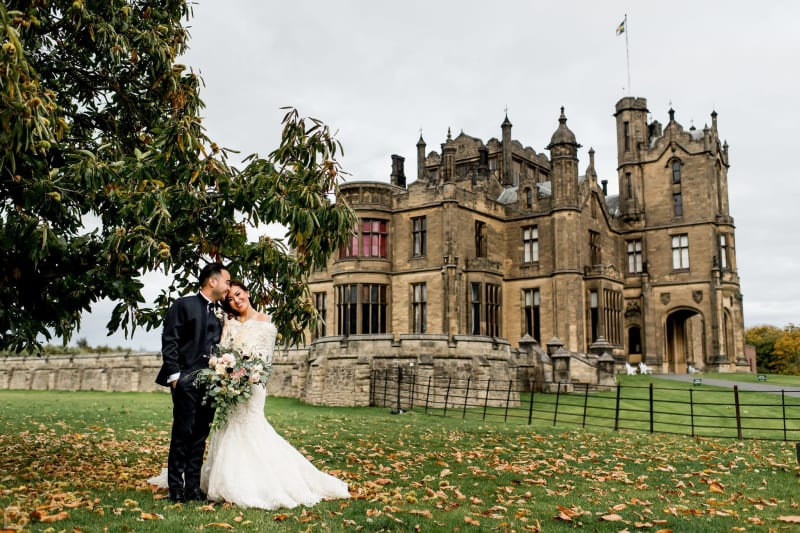 allerton castle wedding venue in the UK