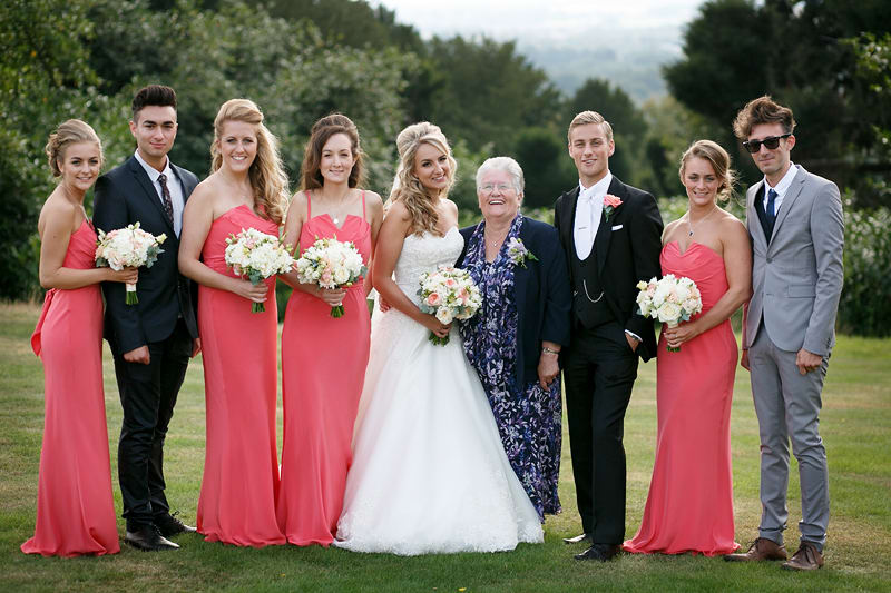 Bridebook.co.uk- bride groom bridal party