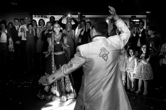 Bridebook.co.uk- bride and groom dancing a traditional first dance