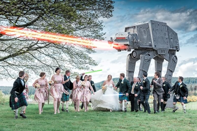 bridebook.co.uk star wars wedding