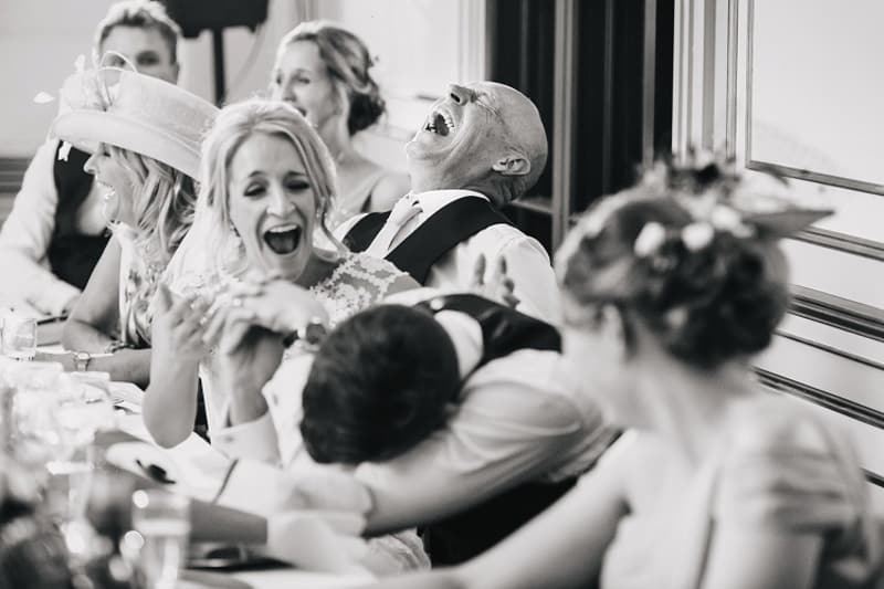 bridebook.co.uk laughing guests