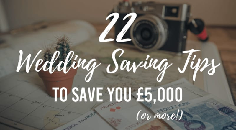 bridebook.co.uk wedding saving tips
