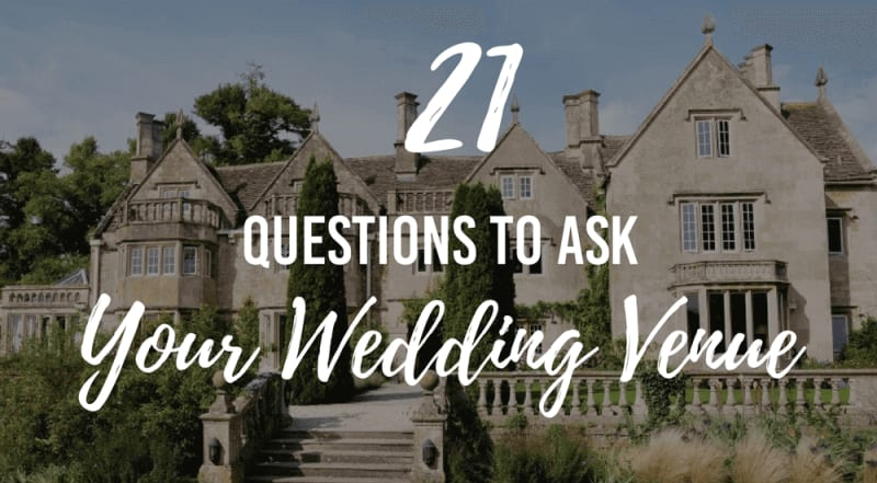 bridebook.co.uk 21 questions to ask your wedding venue