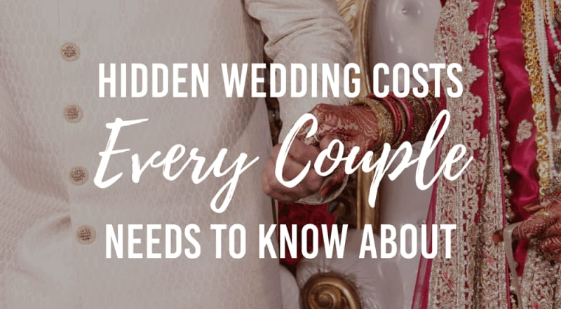 bridebook.co.uk hidden wedding costs uk