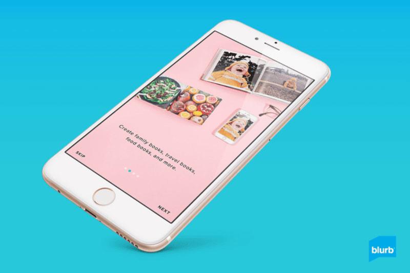 blurb app