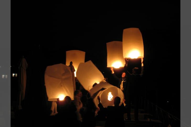 Bridebook.co.uk- wedding lanterns
