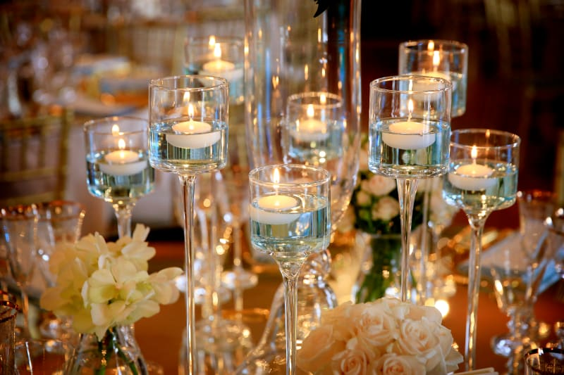 Bridebook.co.uk wedding candles
