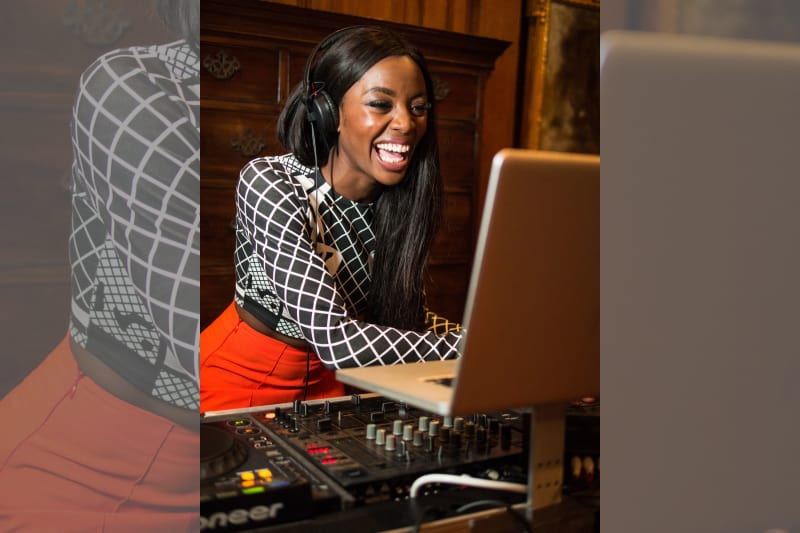 bridebook.co.uk wedding dj smiling