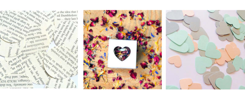 Bridebook.co.uk Etsy confetti picks