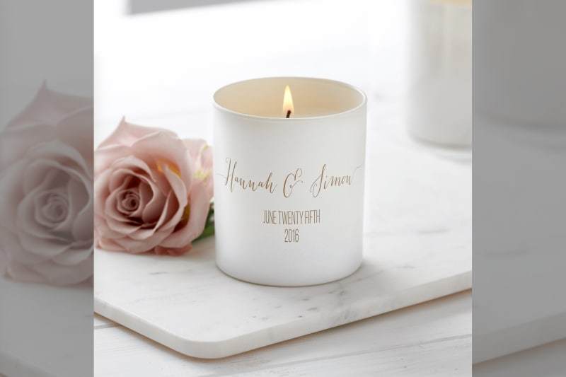 bridebook.co.uk Lily Belle London hand poured candle