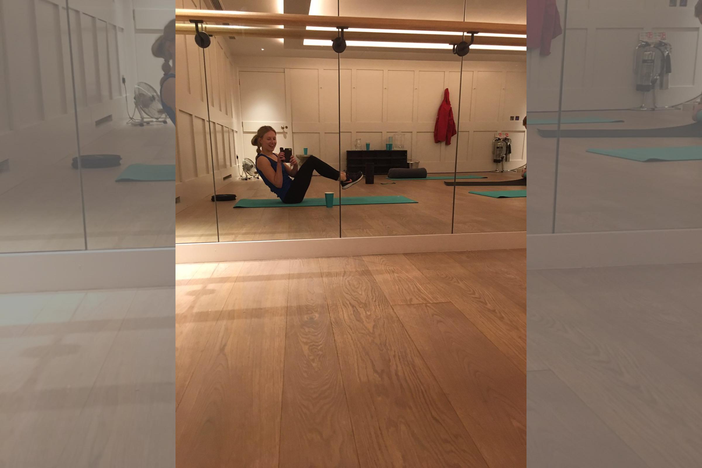 Bridebook.co.uk Bodyism pilates workout