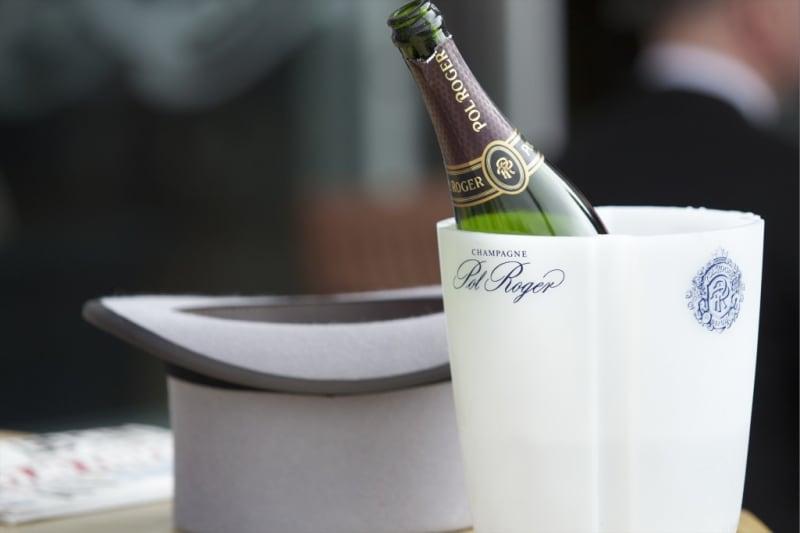 bridebook.co.uk-pol-roger-in-ice-bucket-at-wedding