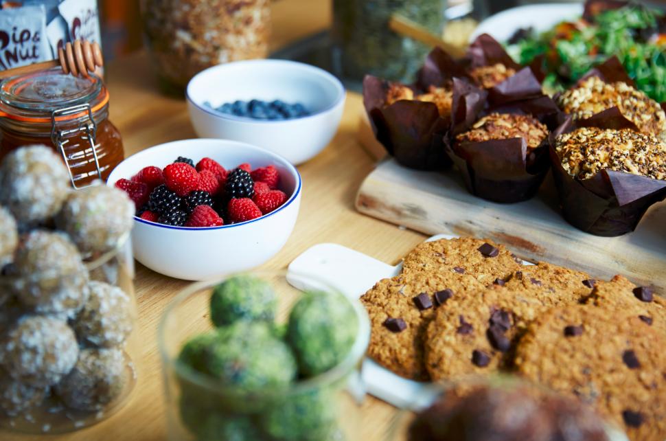 Bridebook.co.uk healthy food spread