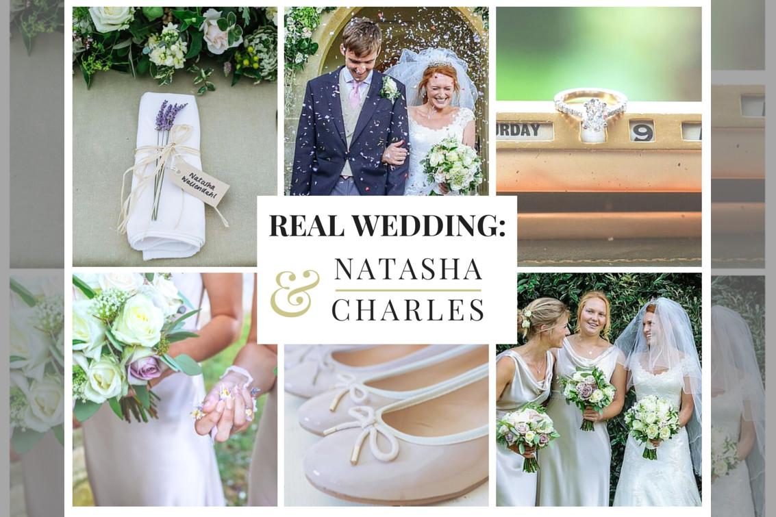 bridebook.co.uk collage of a real wedding