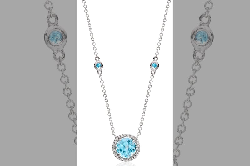 bridebook.co.uk-kiki mcdonough's blue topaz pendant