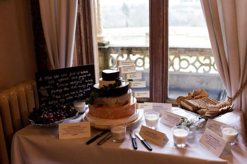 Bridebook.co.uk- cheese tower