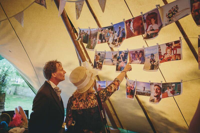 South West | Somerset | Summer | Country | DIY | Rustic | Purple | Marquee | Real Wedding | Helen Lisk Photography #Bridebook #RealWedding #WeddingIdeas Bridebook.co.uk