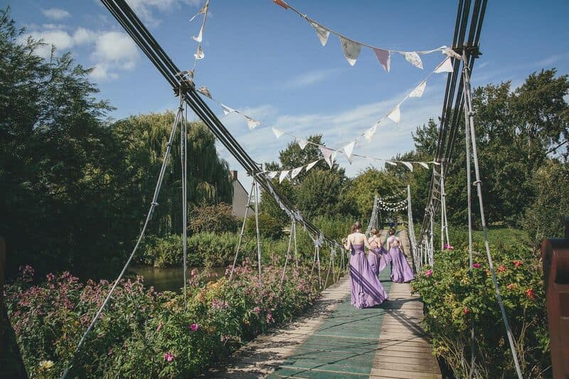 South West | Somerset | Summer | Country | DIY | Rustic | Purple | Marquee | Real Wedding | Helen Lisk Photography #Bridebook #RealWedding #WeddingIdeas Bridebook.co.uk