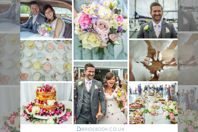 Summer | Country | Outdoor | Green | Pink | Marquee | Real Wedding | Hajley Photography #Bridebook #RealWedding #WeddingIdeas Bridebook.co.uk