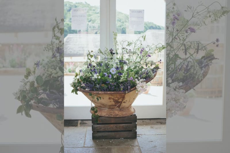 South West | Dorset | Bridport | Summer | DIY | Rustic | Blue | White | Barn | Real Wedding | Helen Lisk Photography #Bridebook #RealWedding #WeddingIdeas Bridebook.co.uk
