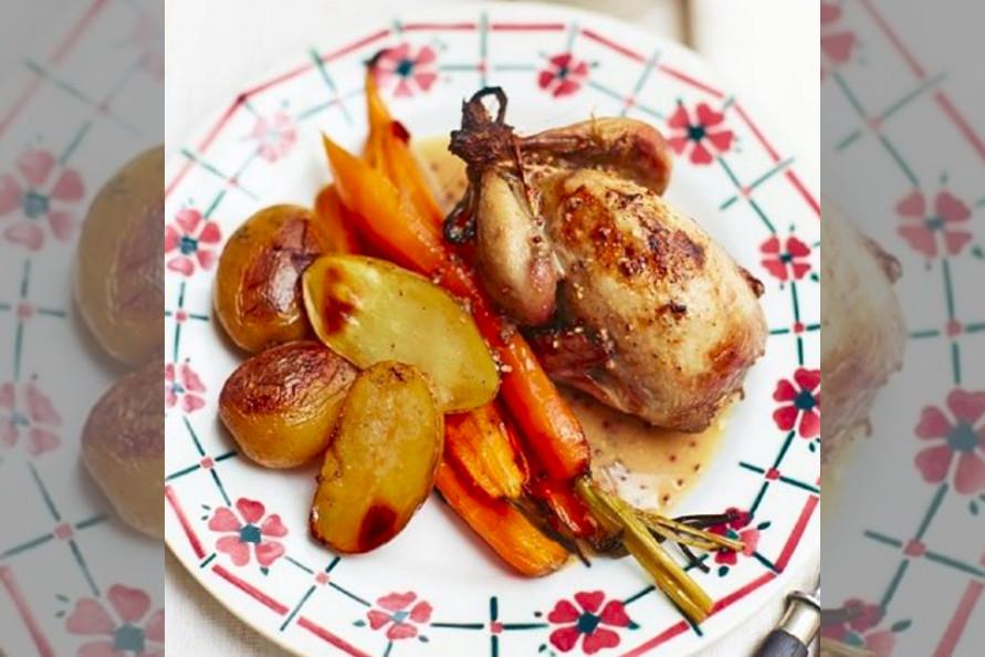 bridebook.co.uk chicken roast dinner by rachel khoo