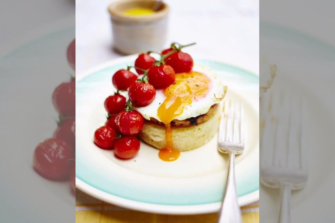 bridebook.co.uk egg dish with tomatoes by rachel khoo