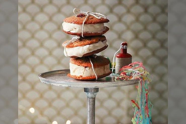 bridebook.co.uk tied ice cream sandwiches by rachel khoo
