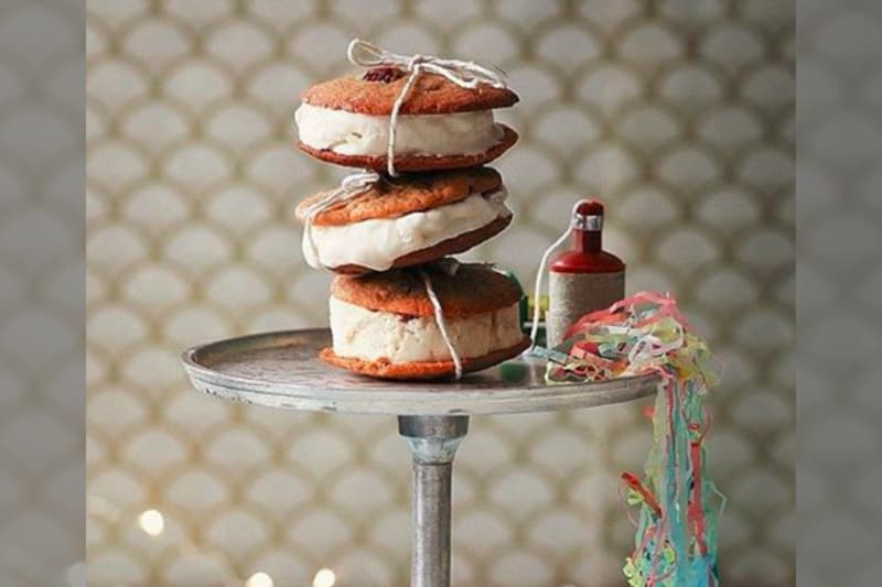 bridebook.co.uk tied ice cream sandwiches by rachel khoo