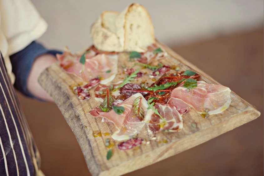 Bridebook.co.uk perfect meat platter for a casual country wedding