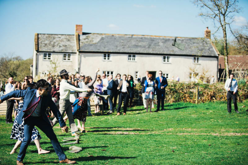 Bridebook.co.uk wedding lawn games