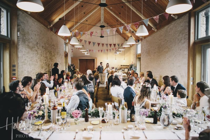 Bridebook.co.uk gorgeous barn wedding in Devon