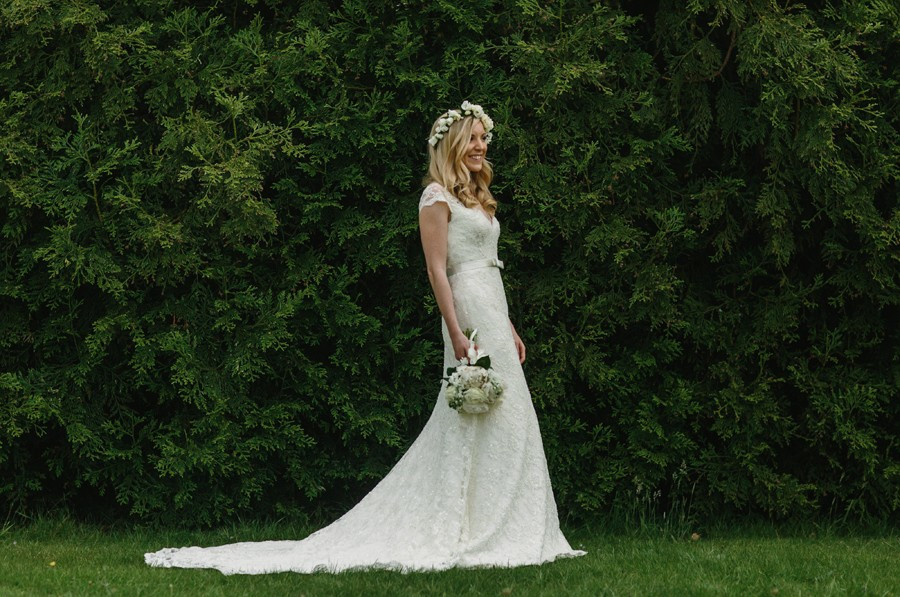 bridebook.co.uk bride with hair down done by Rose Magnall