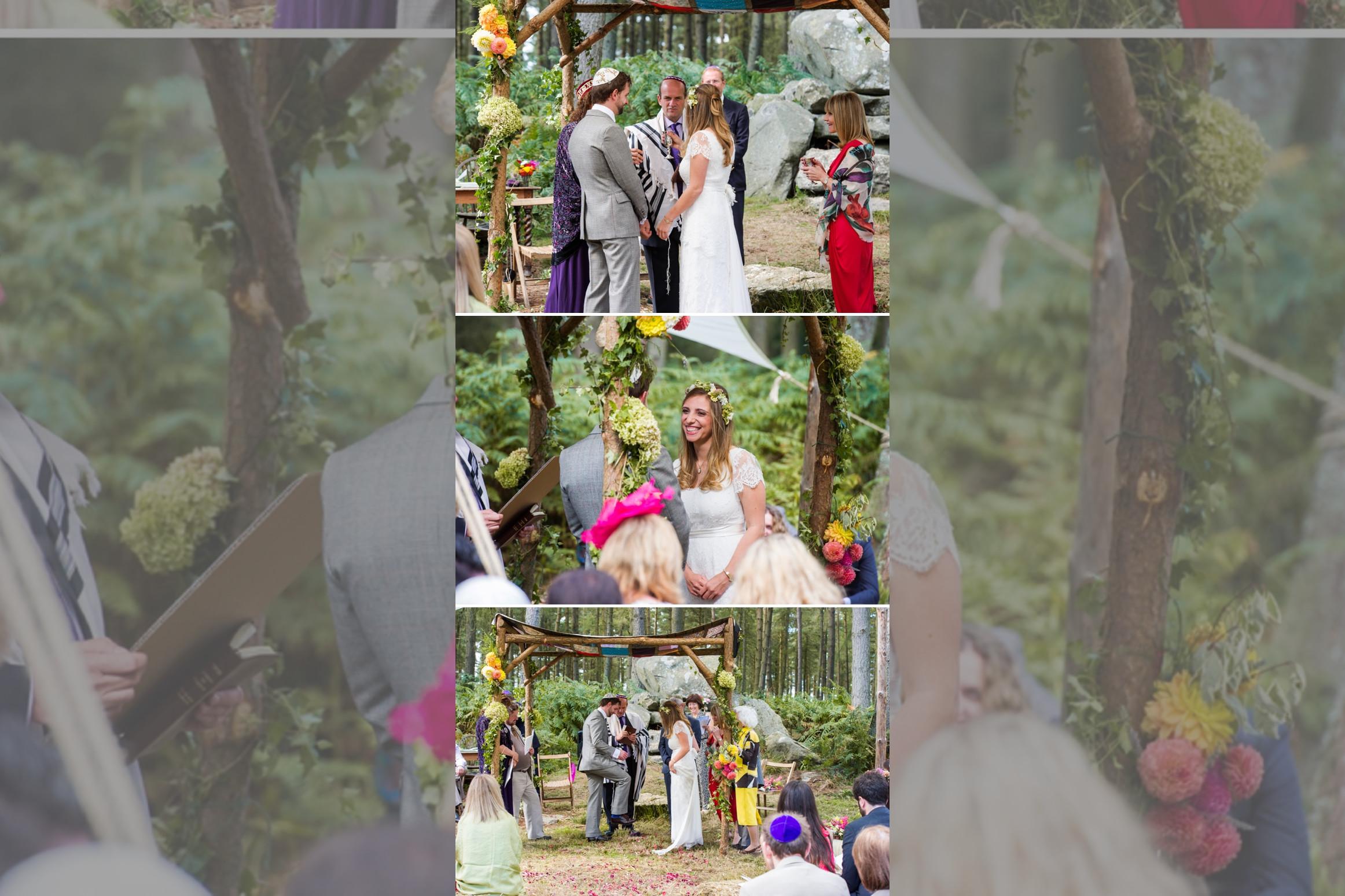 Bridebook.co.uk collection of 3 jewish wedding photos